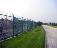 expanded metal safety fence