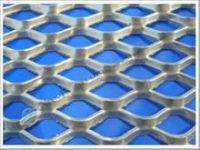 Low carbon steel /aluminum/stainless steel expanded wire mesh