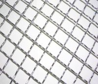 100x100mm crimped wire mesh
