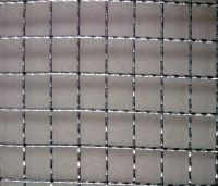 metal crimped wire mesh
