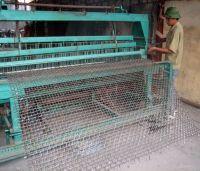 iron wire crimped wire mesh