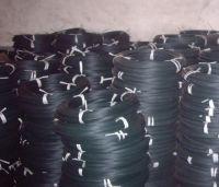black enamel iron wire