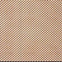 diamond hole expanded copper mesh