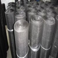 Low Carbon Steel Wire Cloth/Black Wire Cloth/Mild Steel Wire Cloth (CN-Anping),for Rubber