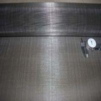plain weaving black wire cloth