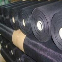 china manufacturing black wire cloth in anping