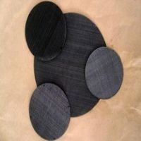 60 mesh High Quality Low Carbon Steel Plain weave black wire cloth