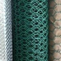 Hexagonal Wire Mesh with PVC-coated, Hot-dipped Galvanized or Electro-galvanized Surface Treatment