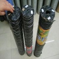 Galvanized /PVC Coated Hexagonal Wire Mesh For Cage( direct factory wholesales)