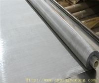 MT 316L twill weave 500mesh 0.025mm stainless wire mesh