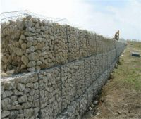 60*80mm professional galvanized gabion box factory