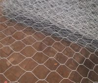 PVC Coated gabion box (Chicken wire mesh)