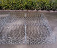 pvc coated and galvanized gabion box