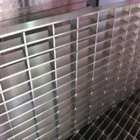 Professional manufacture hot dipped galvanized steel bar grating (ISO9001:2008)