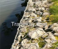 heavily galvanized gabion box