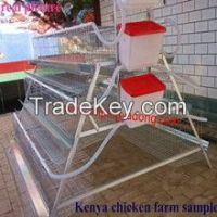 iso2008 high quality poultry battery cage