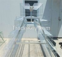 cheap galvanized welded wire high quality poultry chicken cage for sale