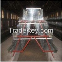 Egg production project layer chicken battery cage