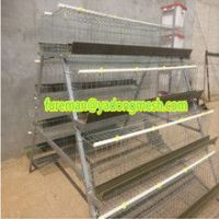 Chicken Cage/Galvanized Chicken Layer Cage/Poultry Cage