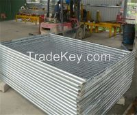 PVC coated welded wire fence panels for sale