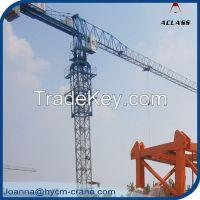 Supply New China P125(QTP6020) Max.10T, Tip 2T, Flattop Tower Crane