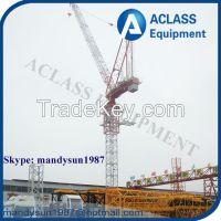 Supply QTD125 10t Self-erecting Luffing Jib Tower Crane