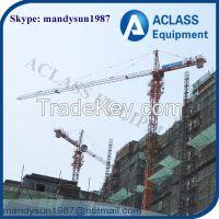 QTZ125 spare parts joystick tower crane for sale in dubai