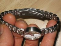 women's evo quartz stainless steel watch