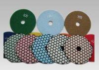 Hexagon Dry Diamond Polishing Pads