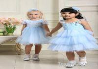 2011 Pink Nana little queen flower girl dresses