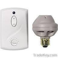GE 51137 Switch Kit 3 Piece Wall Ceiling Light with Socket Adaptor-Wa