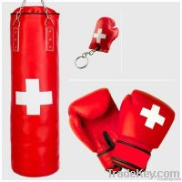 PUNCHING BAG + BOXING GLOVES & 1 KEYCHAIN FREE