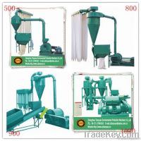 wood powder machine