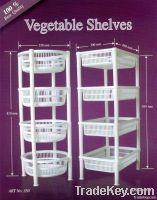 Plastic Vegetable Shelves