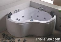 Massage Bathtub Whirlpool Jacuzzi Acryl ABS Rectangle Oval Round