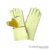 cow leather welding glove