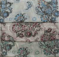 """Viscose fiber fabric Summer floral printed 2015 new Viscose fabric for skirt or dress 55"""" wide"""