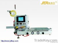 Touch-screen semi-automatic taping packaging machine