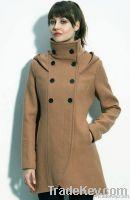 Women's Fashion Winter Coat Wool&Cotton Dustcoat Wholesale Fashion Wom
