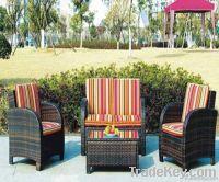 PE rattan Garden sofa