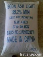 99.2%min Soda ash light SGS Report