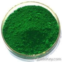 iron oxide green pigments
