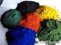 Iron oxide Red / Yellow powder CAS No.: 1309-37-1