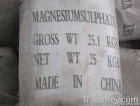 98% magnesium sulfate heptahydrate