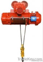 0.5Ton to 20Ton electric wire rope hoist