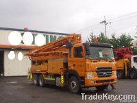 Used Concrete Pump Truck 37M