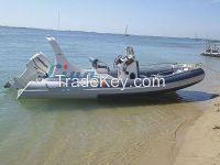 Liya Rib boat6.2m/20feet, Semi-rigid boat, yacht tender