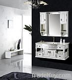 Wood Classical Bathroom Cabinet