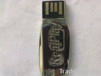 RealPlay Silver USB Flash Drive
