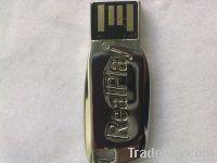 RealPlay Silver USB Flash Drive